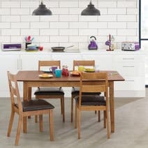 Carson Walnut Dining Furniture Collection