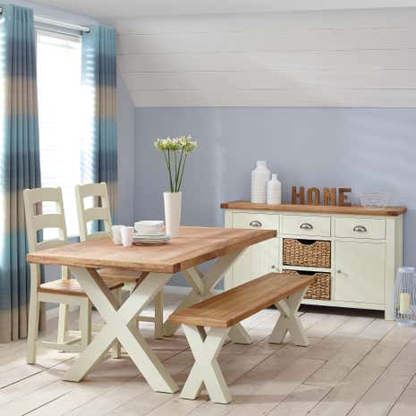Wilby Cream Dining Room Collection