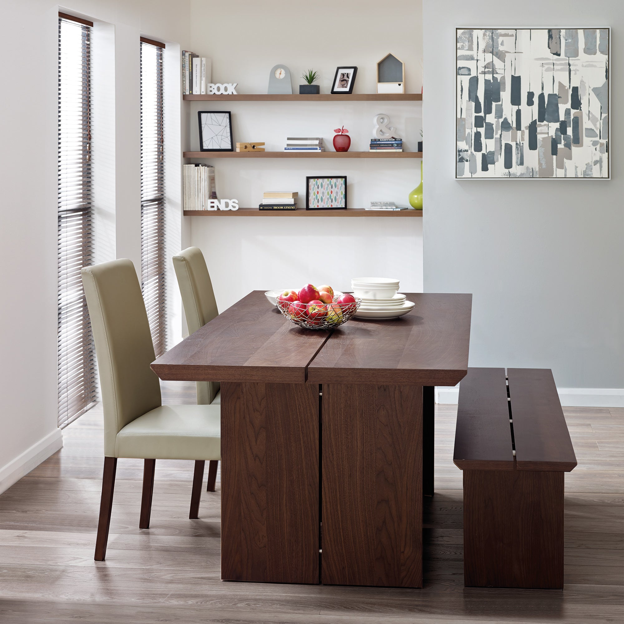 Logan Walnut Dining Room Collection