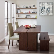 Logan Walnut Dining Furniture Collection