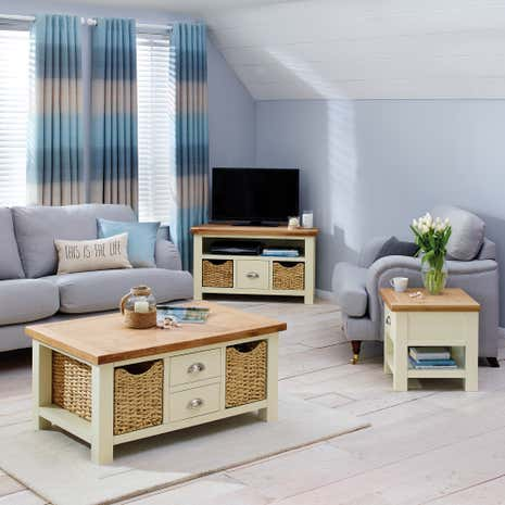 Wilby Cream Living Room Collection Dunelm