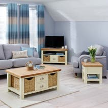 Wilby Cream Living Furniture Collection