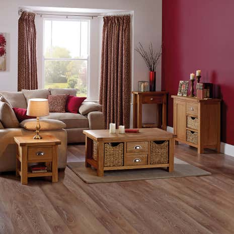 Oakley Oak Living Room Collection Dunelm