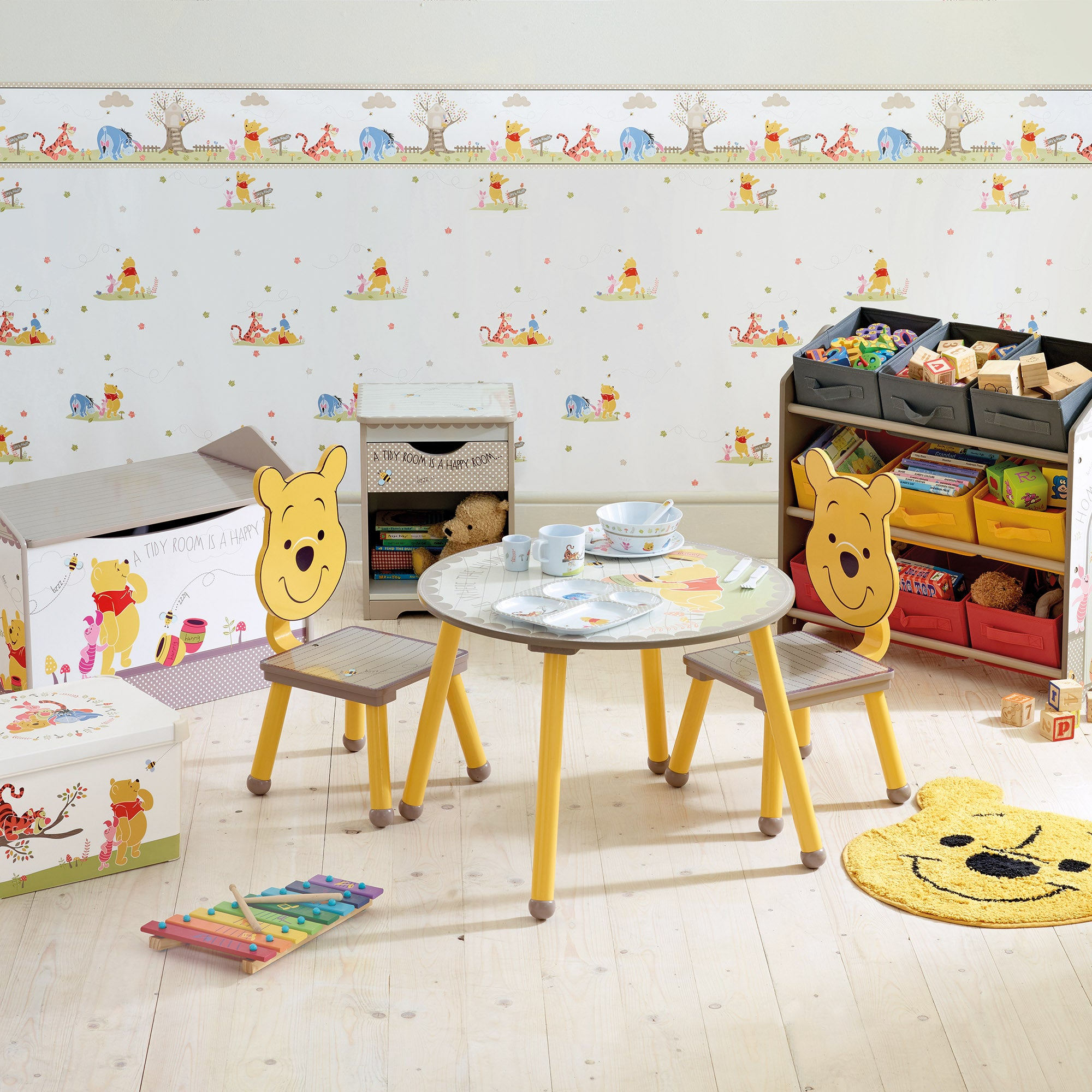 Delightful Disney Winnie The Pooh Furniture Collection