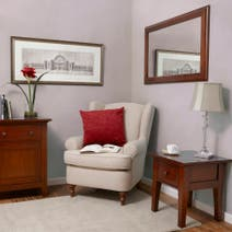 Brooklyn Dark Wood Living Furniture Collection