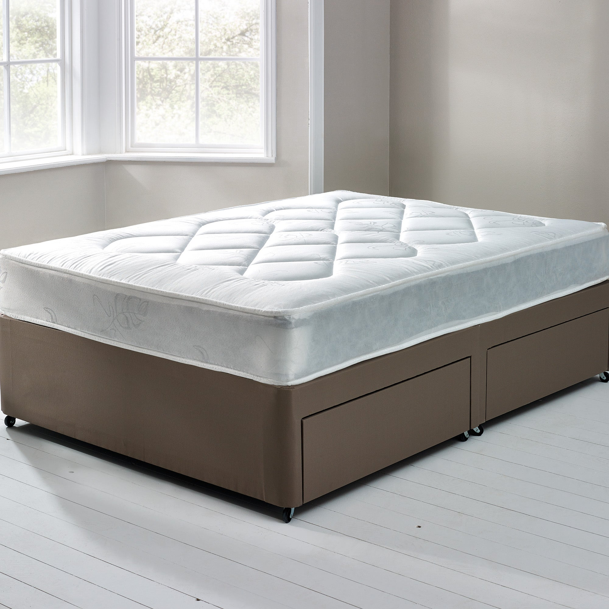 Essentials Open Coil Soft Mattress and Divan Collection