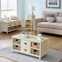 Portland Cream Living Furniture Collection