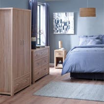 York Oak Bedroom Furniture Collection