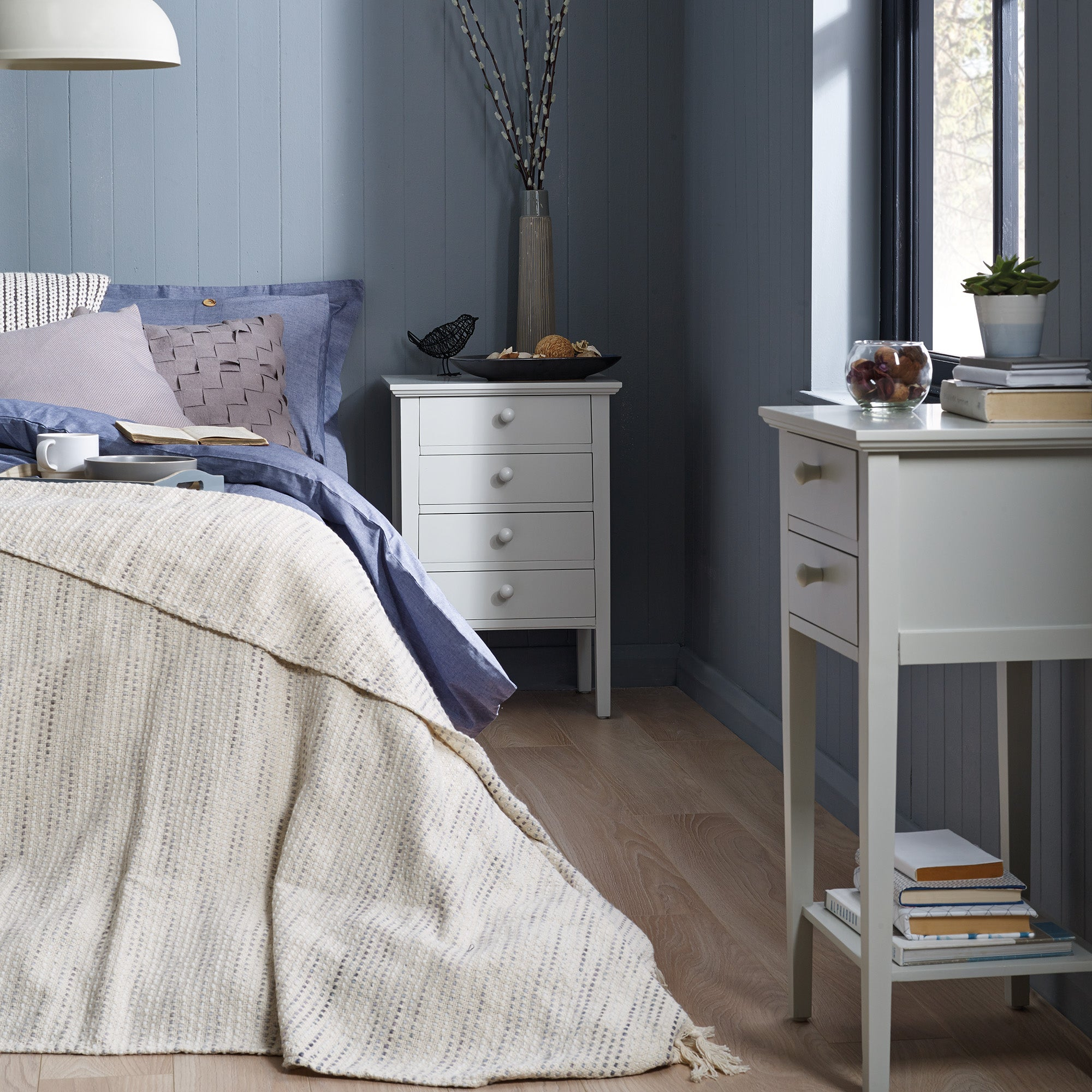 Baxter Grey Bedroom Collection