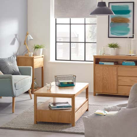 Jasper Oak Living Room Collection