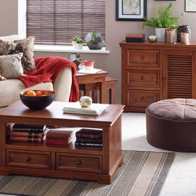 Louvre Dark Wood Living Room Collection Part 47