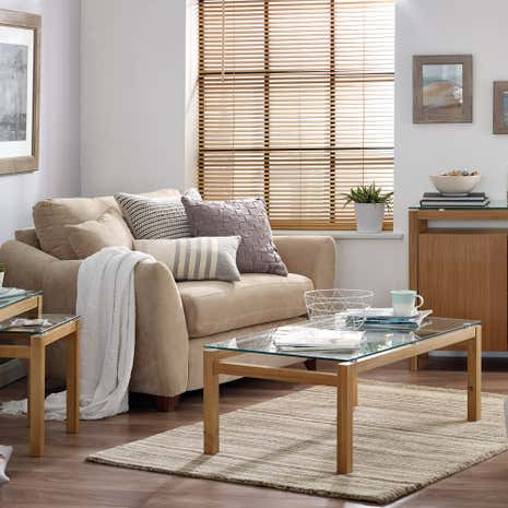 Dallas Oak Living Room Collection Dunelm
