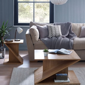 Zen Oak Living Room Collection