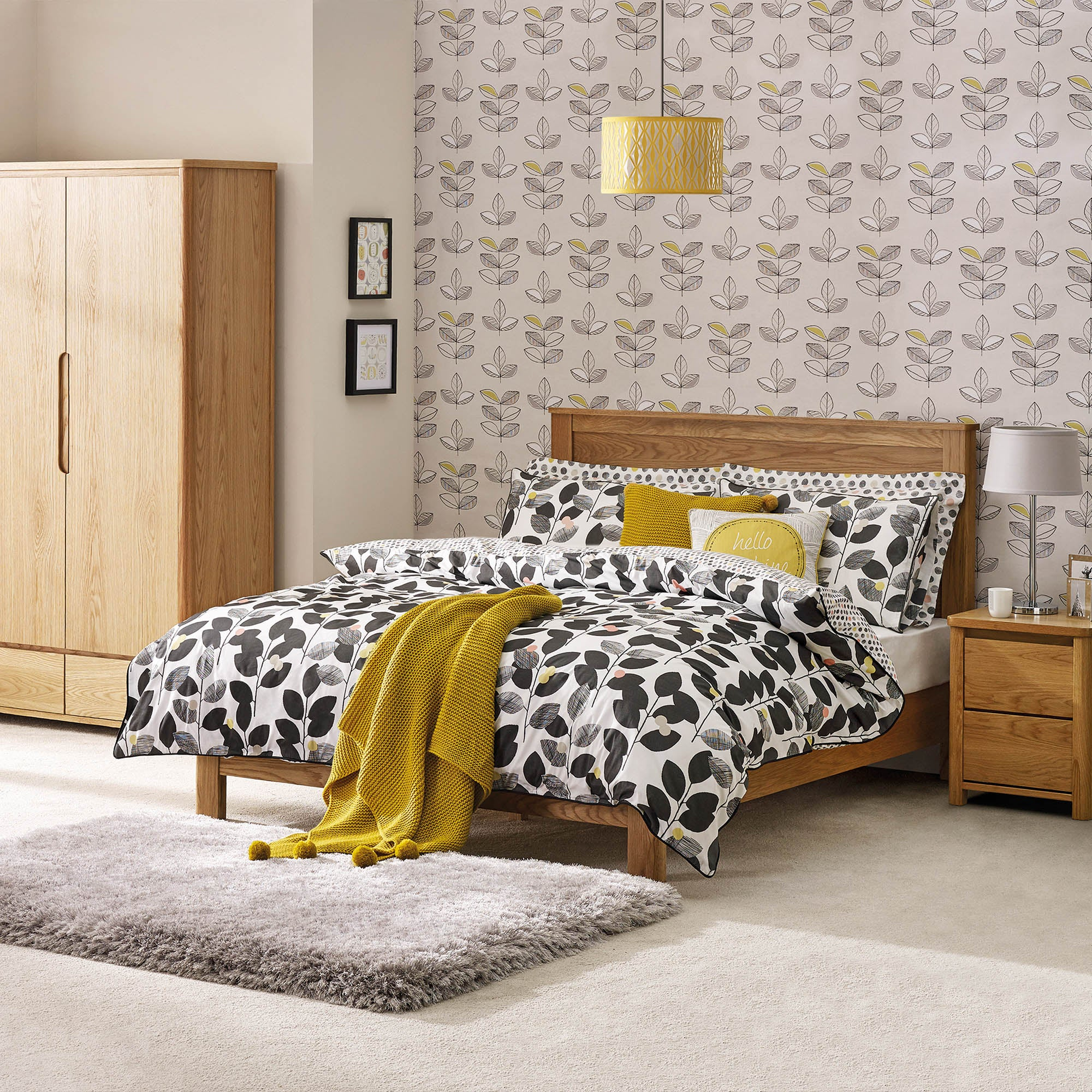 Jasper Oak Bedroom Collection