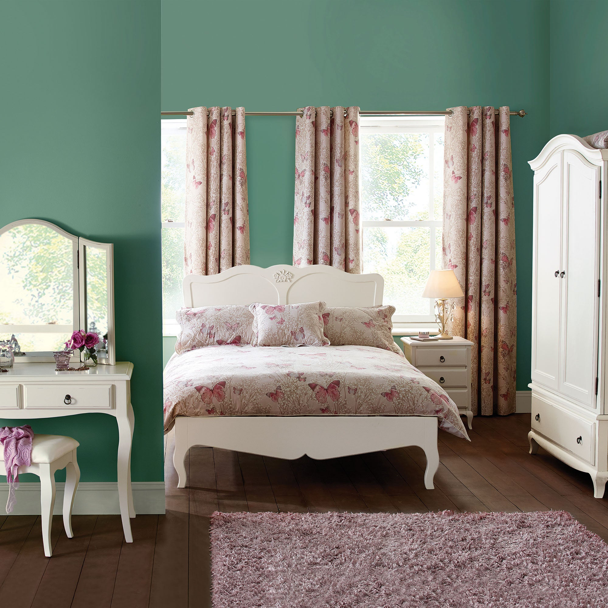 Florence Ivory Bedroom Collection