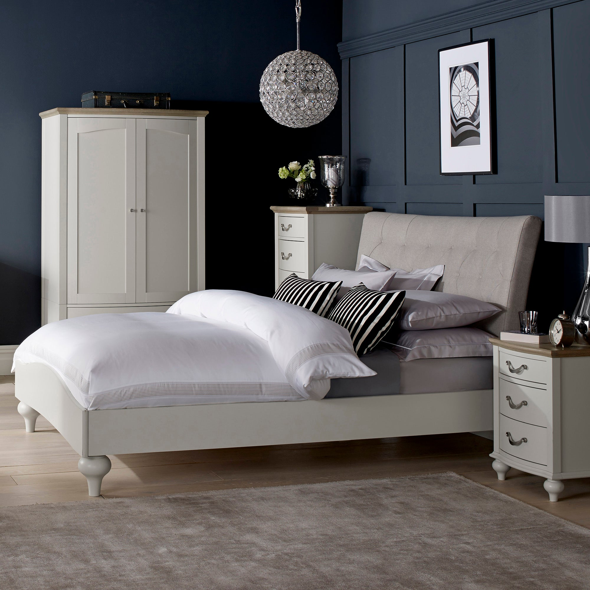 Sophia Grey Bedroom Collection