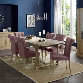 Savannah Oak Dining Room Collection