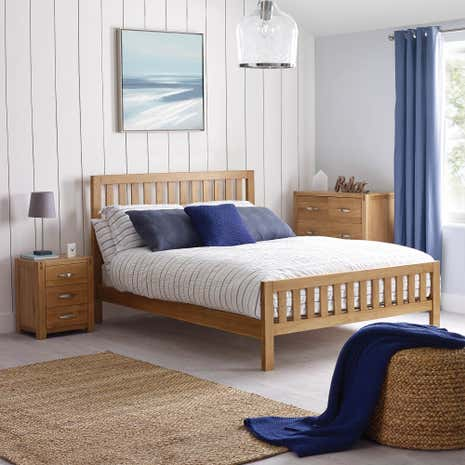 Hastings Oak Bedroom Collection. Oak Furniture   Solid Oak Bedroom Furniture   Dunelm