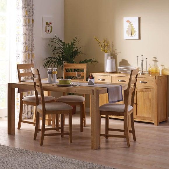 Oak Furniture Solid Oak Bedroom Furniture Dunelm