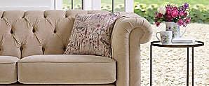 Share Cobham 2 Seater Faux Leather Sofa