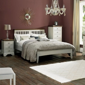 Eaton Walnut and Grey Bedroom Collection