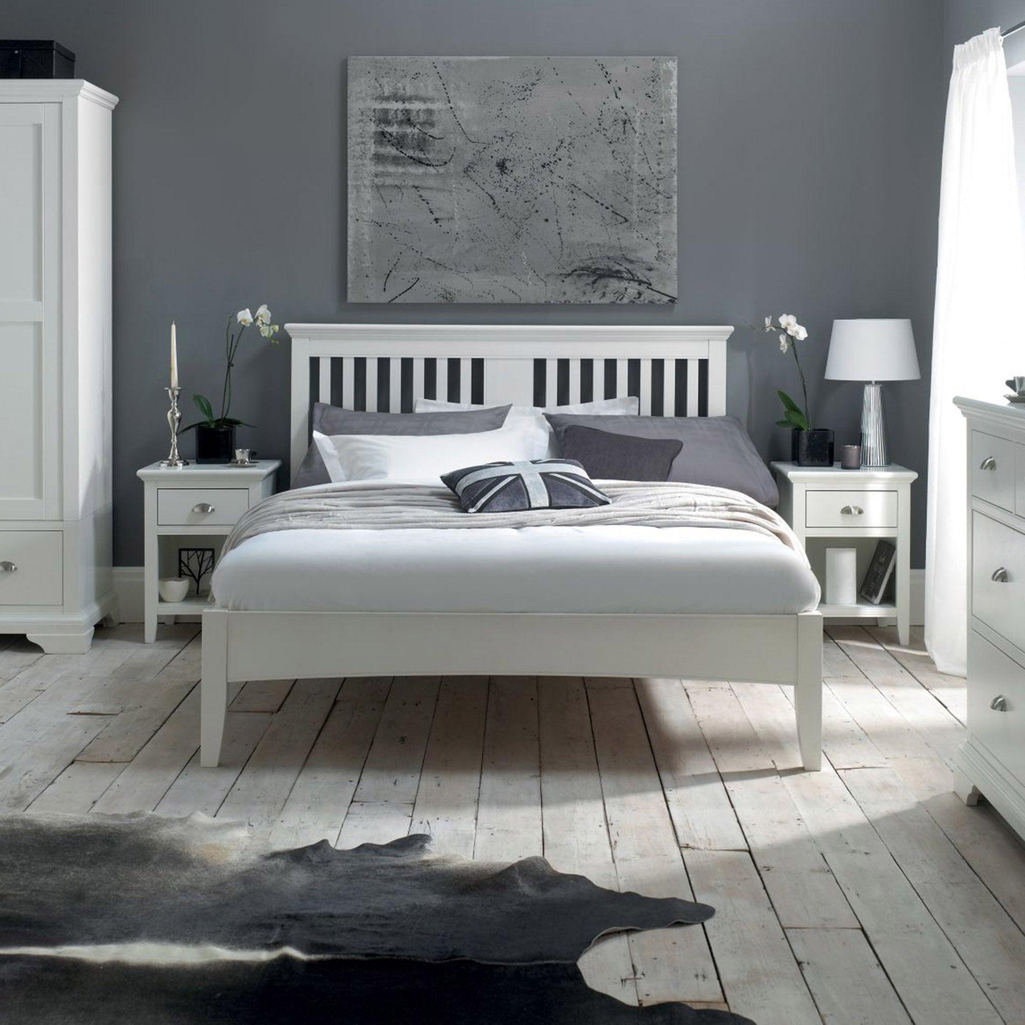 Eaton White Bedroom Collection Dunelm