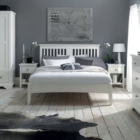 Eaton White Bedroom Collection