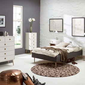 Soft Line White Bedroom Collection