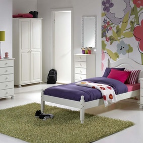 Colburn White Bedroom Collection