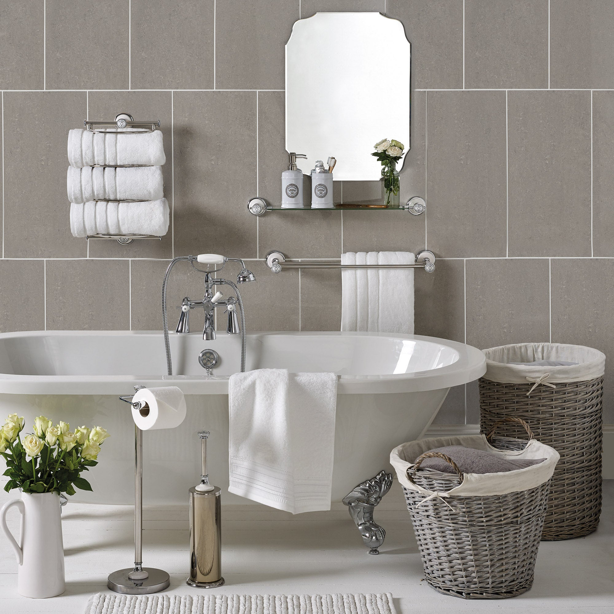 Share Vintage Bathroom Collection