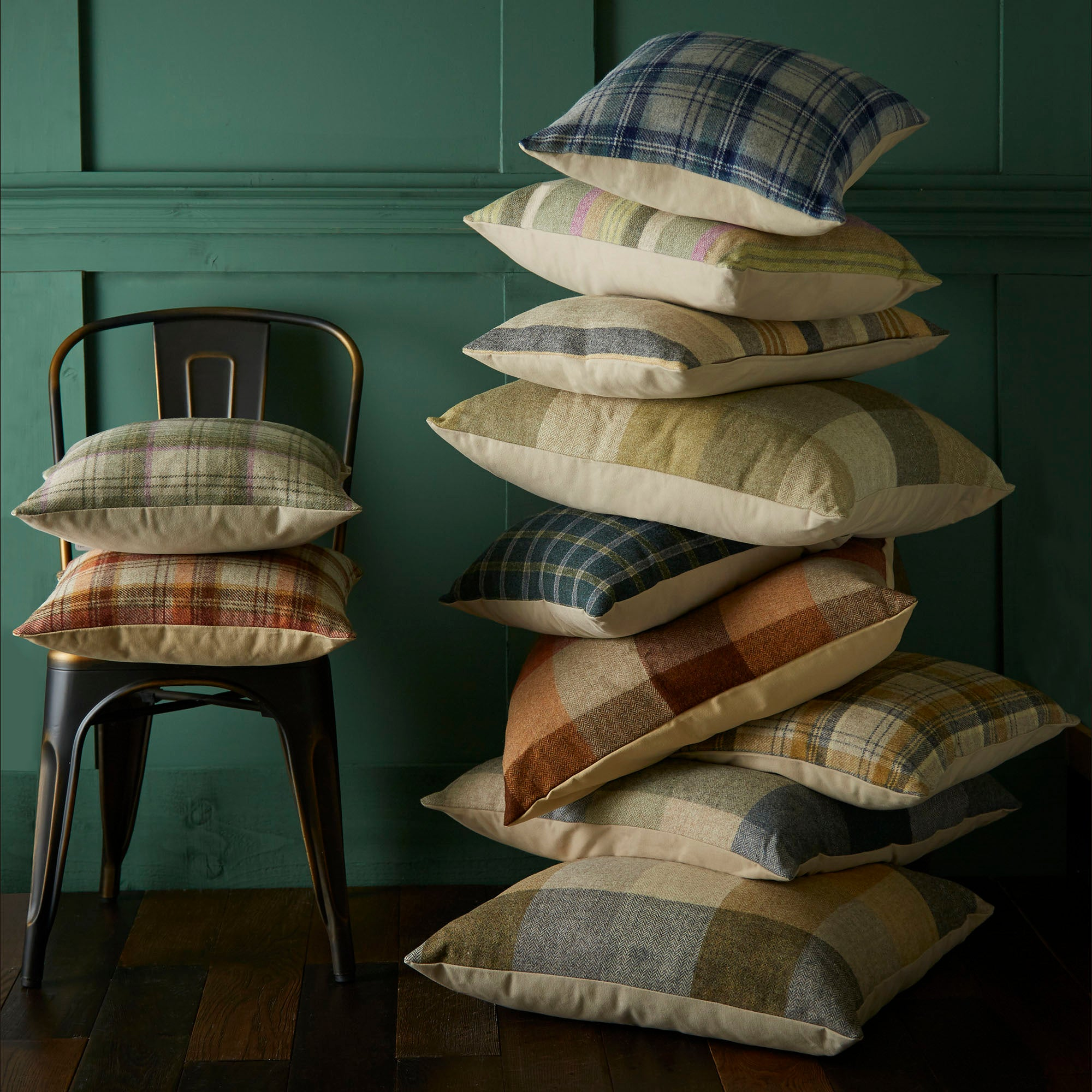 Tweed Cushion Collection