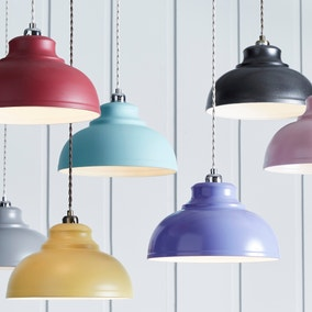 Lamp shades decorative light shades dunelm galley lighting collection mozeypictures Image collections