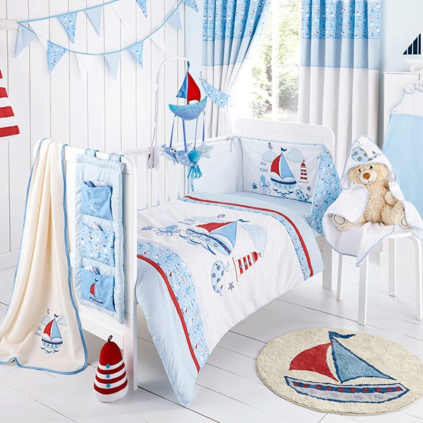 Nautical Nursery Bed Linen Collection