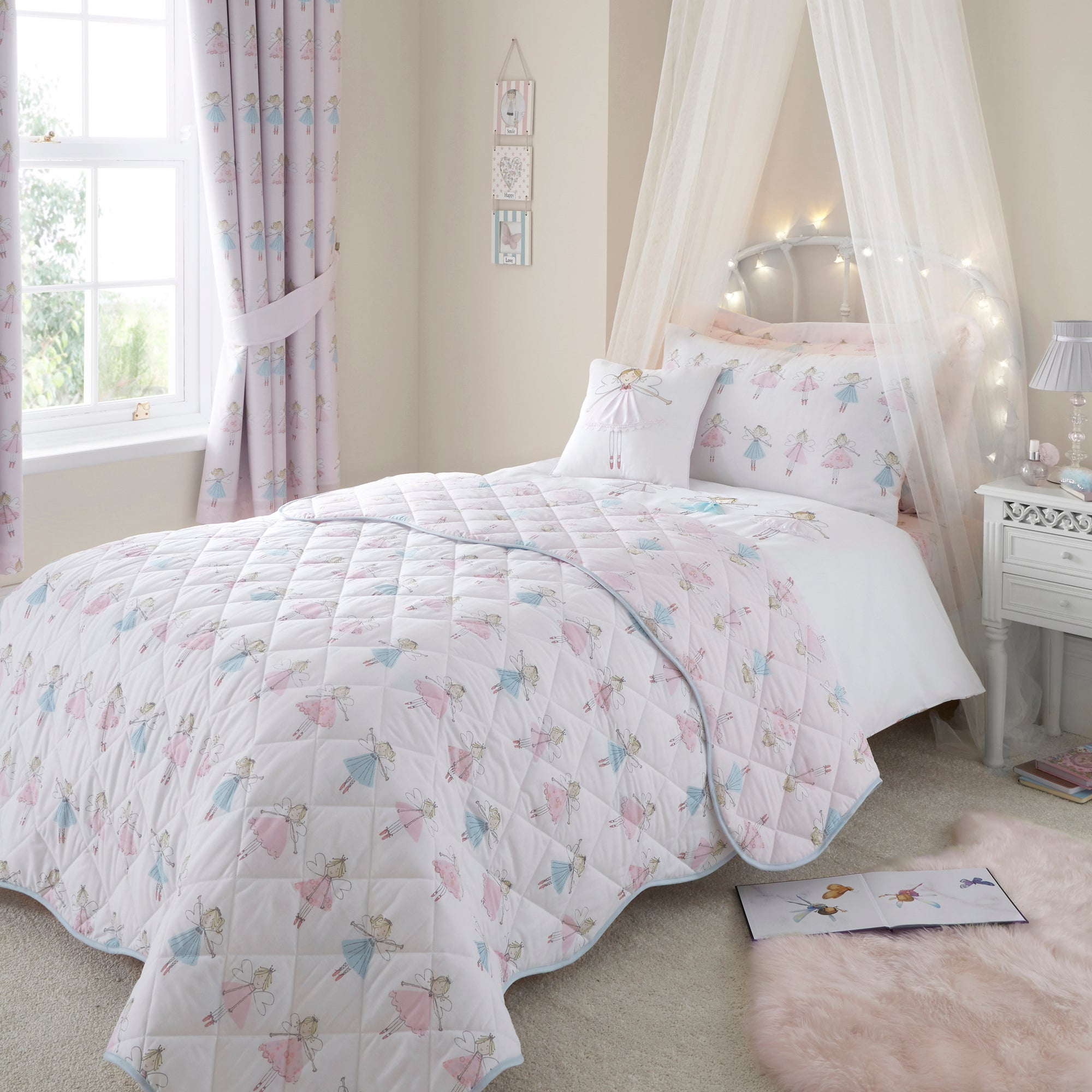 Fairies Pink Bed Linen Collection