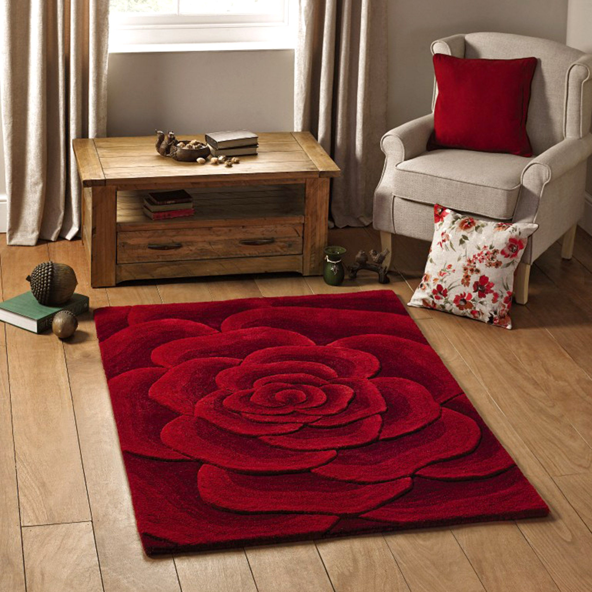 Utopia 3D Wool Rug Collection