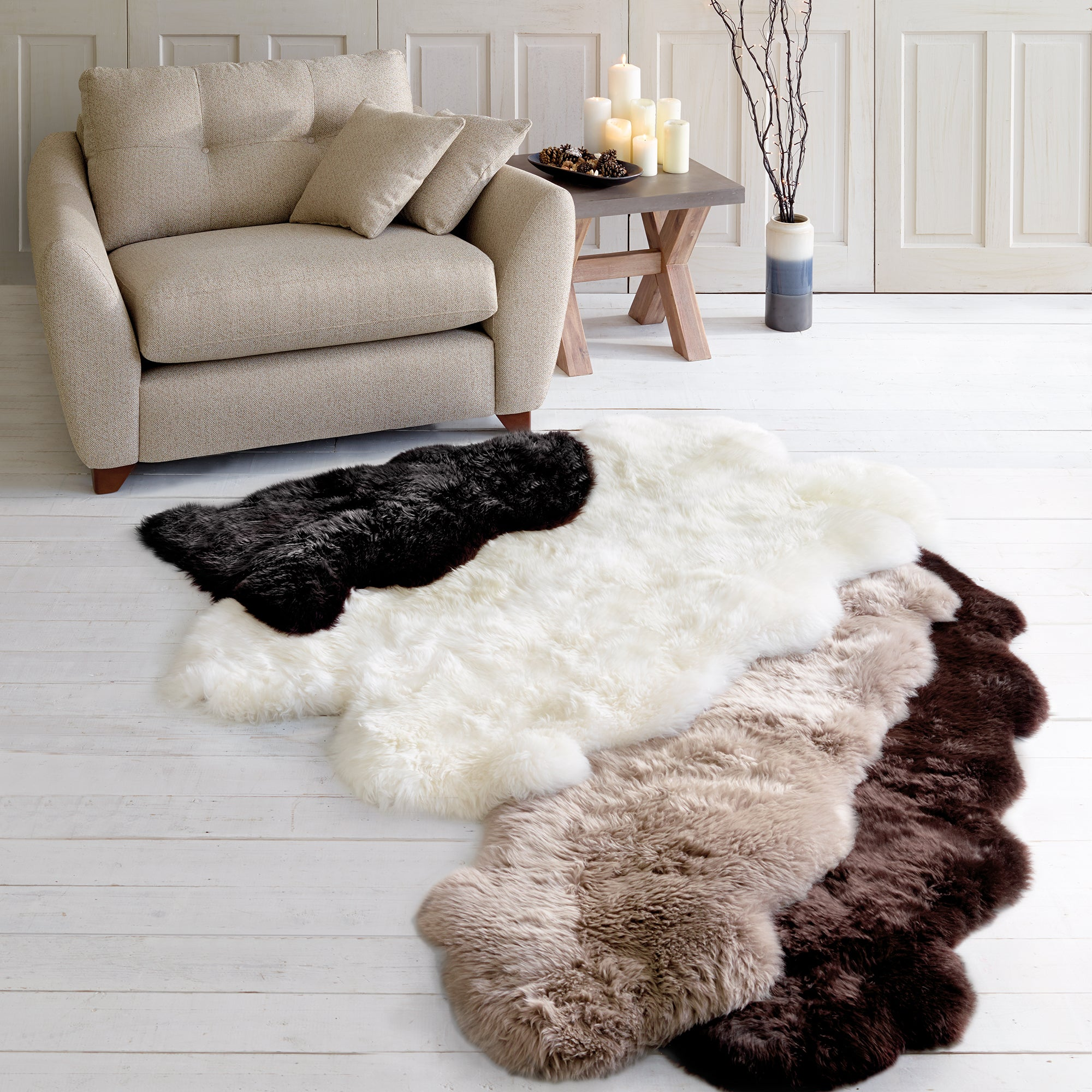 Sheepskin Rug Collection