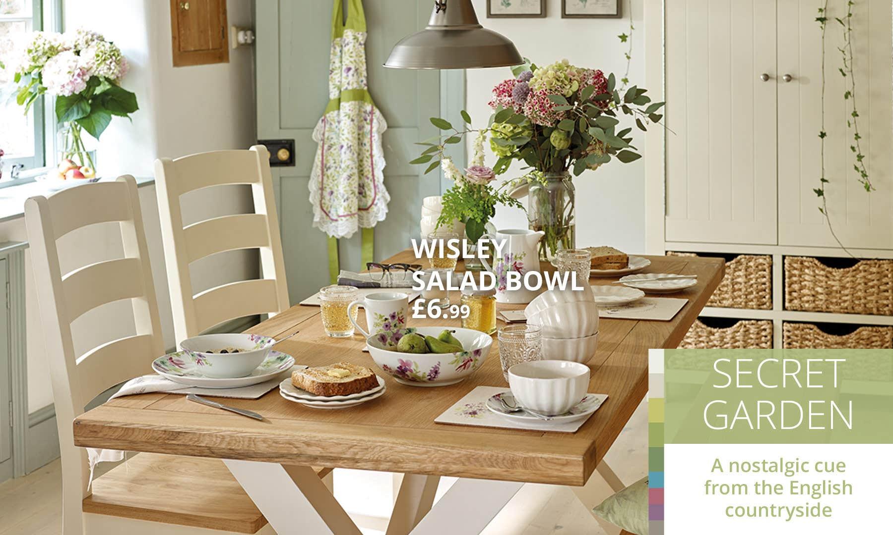 Dining Room Secret Garden