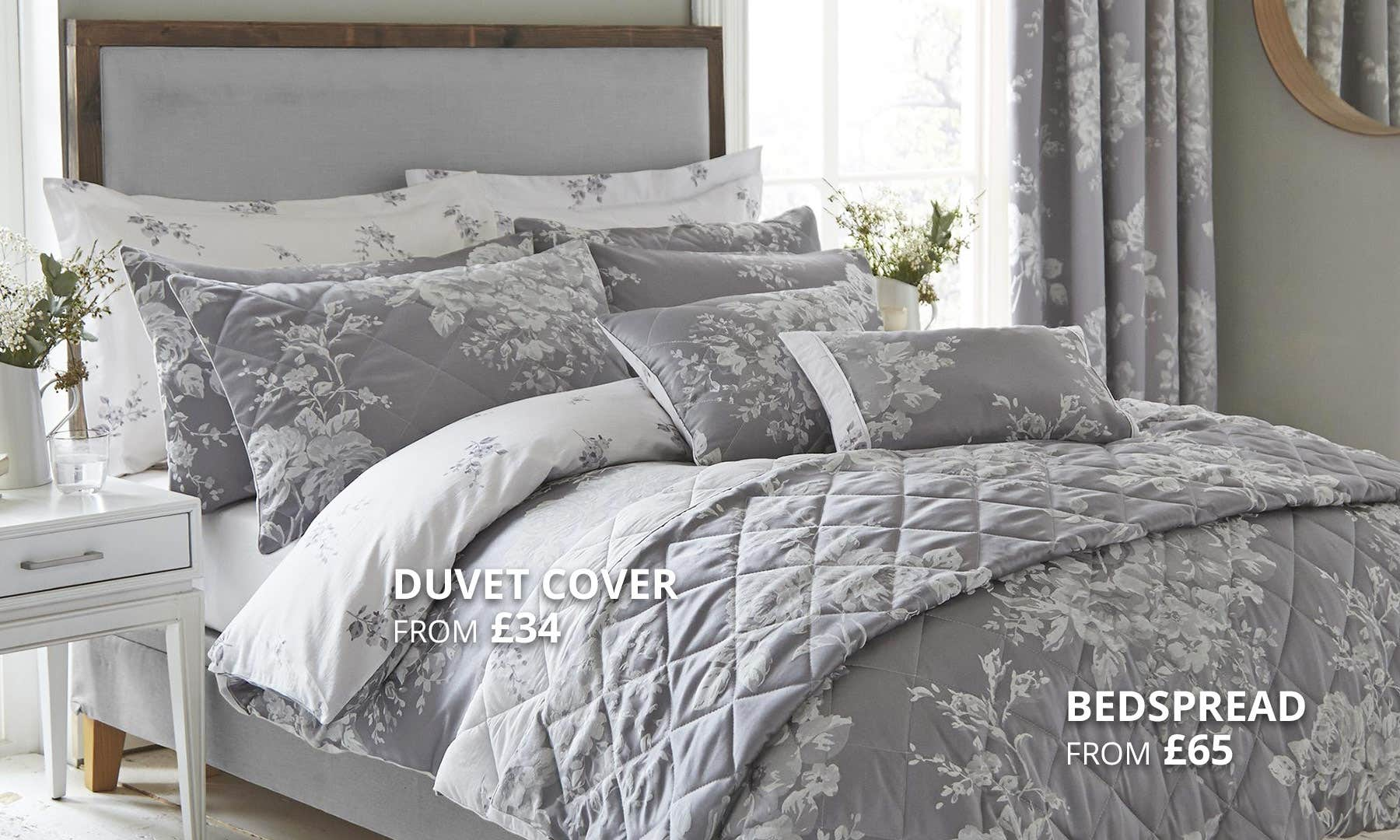 Laura Grey Bedding Collection
