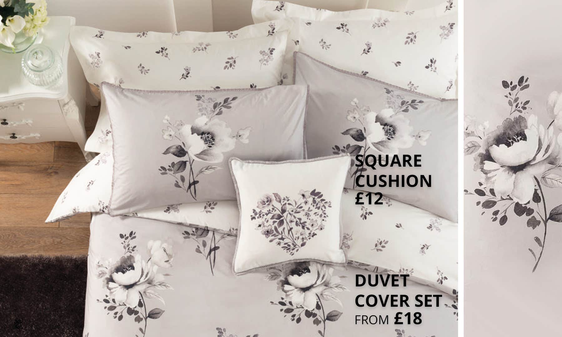 Liana Grey Bedding Collection