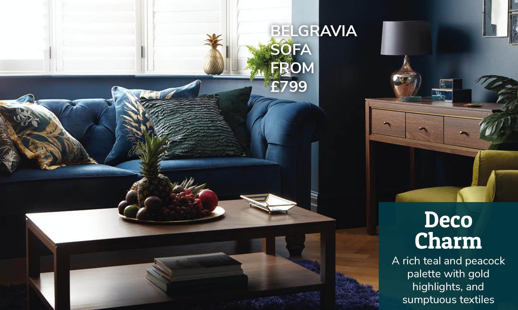 Living Room Deco Charm
