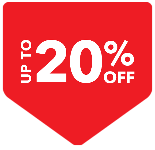 20% off selected
