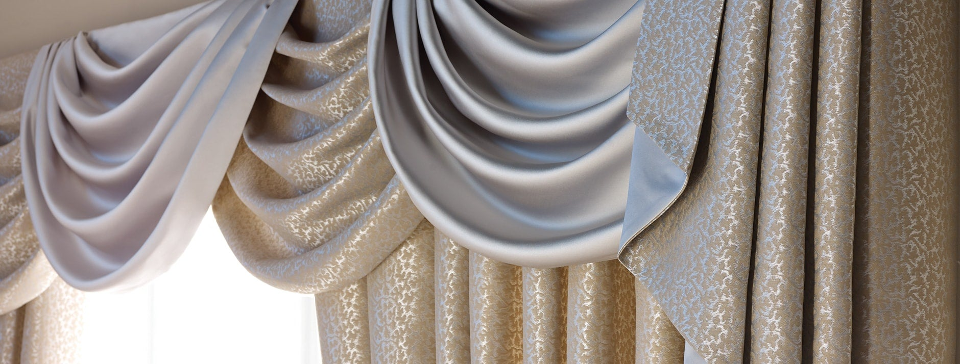 Curtain Swags, Tails & Pelmets