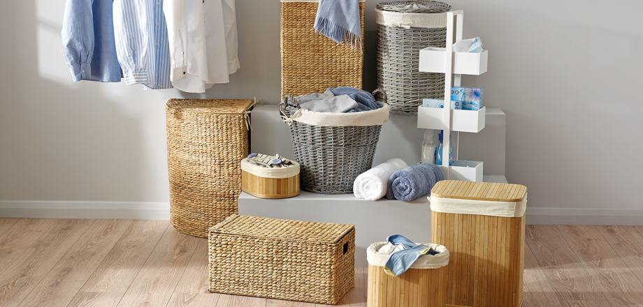 Laundry Basket and Bins
