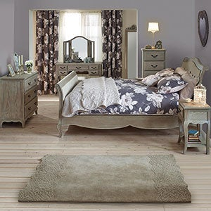 Annabelle Grey Bedroom Furniture Collection