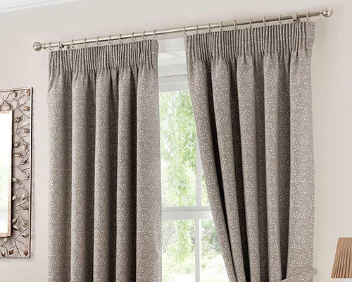 Eyelet Curtains Pencil Pleat