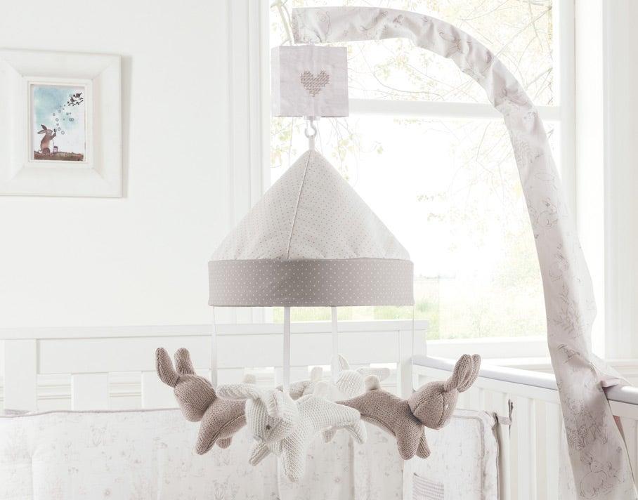 Blanket Bunny Meadow Mobile