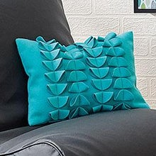 Elements Circle 3D Filled Cushion