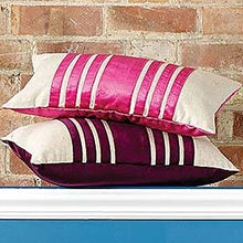 Velvet Stripe Cushion