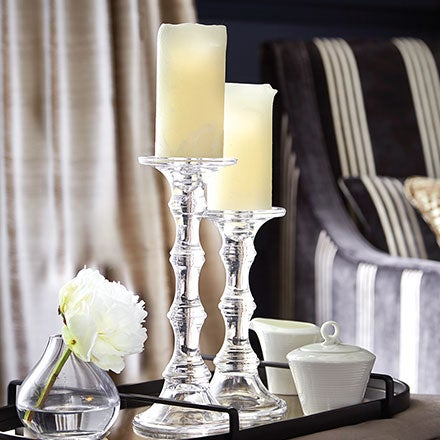 Charming Decorative Home Accessories. Candle Holders