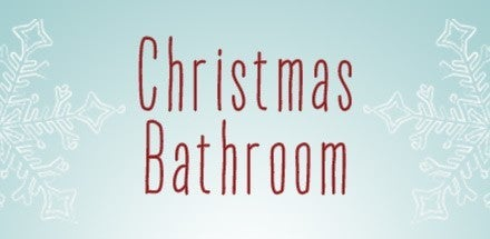 Xmas bathroom